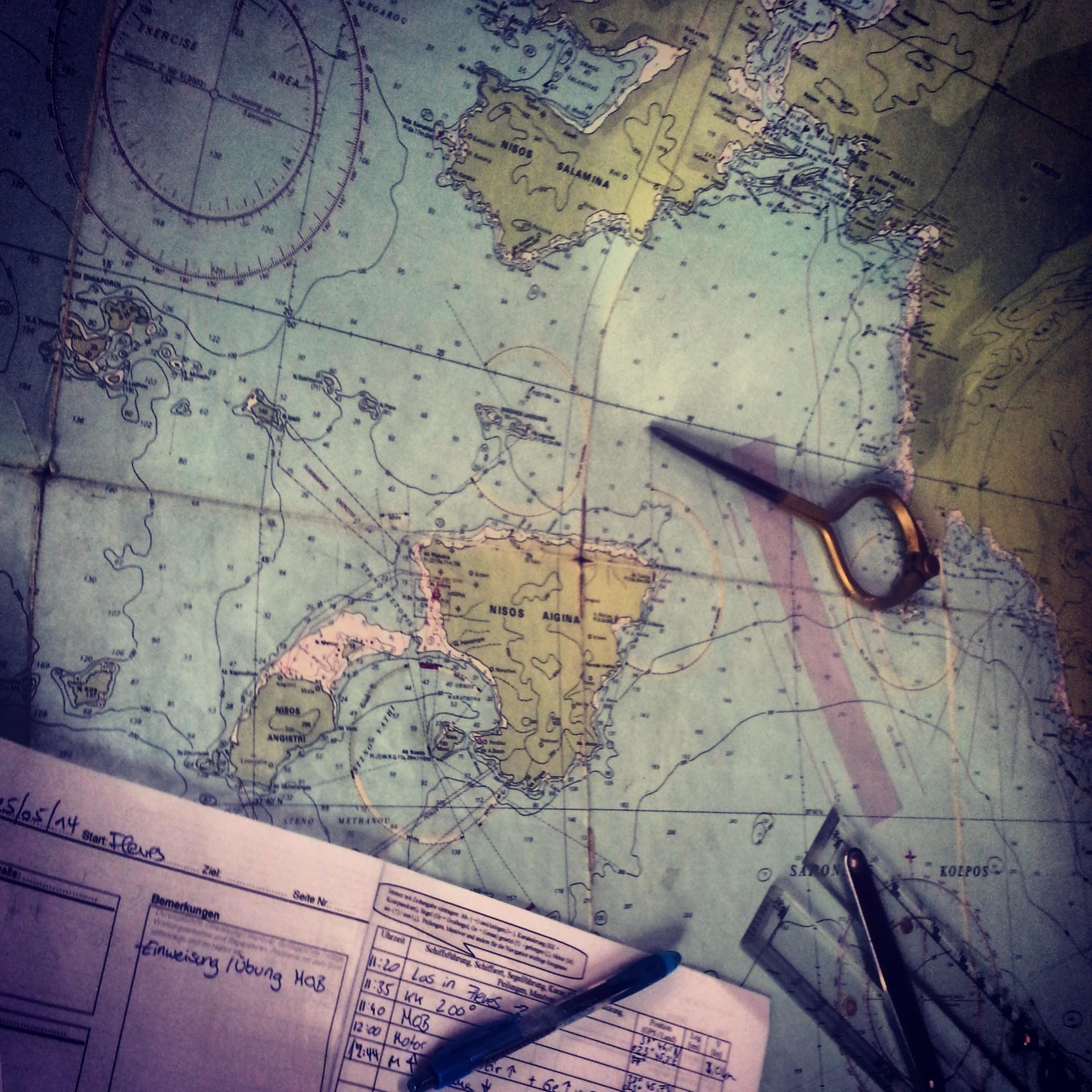 Sailing in Greece = Chaos + Silence